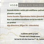 VSSB apaļais galds IV